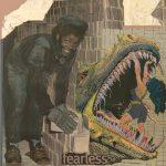 Fran Gialamas  <b>Fearless </b> Photo Assemblage,  13 x 13