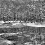 Gordon Sarti     <b>Lines and Reflections </b> Photography B&W,  14 x 11