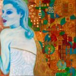 Lawrice Recie Dolan  <b>A Woman of Substance </b> Watermedia Collage,  30 x 30