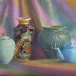 Marianne Fyda <b> Eleven AM  North Light </b> Pastel on Colourfix Paper,  18 x 24