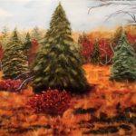 Patricia Jones <b> Bog </b> Oil,  18 x 20