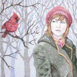 Jack Puglisi  <b>Winter's Tale </b> Pen & Ink (Pointillism),  16 x 22