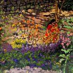 Leslie Sorg <b> Cheekwood Gardens I </b> Batik,  22 x 26