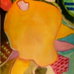 Kathleen Zimbicki, Carnegie<br><b>Happy Feet</b><br> Watercolor  30 x 24""